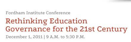 Rethinking Education Governance for the 21st Century